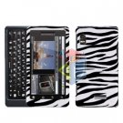 For Motorola Droid 2 A955 Cover Hard Case Zebra