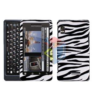 For Motorola Droid 2 A955 Cover Hard Case Zebra