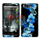For Motorola Droid X mb810 Cover Hard Case Flower