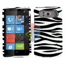 FOR HTC HD7 HD 7 Cover Hard Case Zebra
