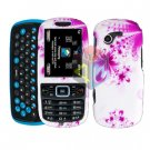 For Samsung Gravity 3 T479 Cover Hard Case H-Flower