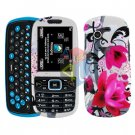For Samsung Gravity 3 T479 Cover Hard Case W-Flower