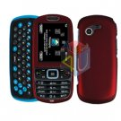 For Samsung Gravity 3 T479 Cover Hard Case Red