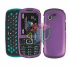 For Samsung Gravity 3 T479 Cover Hard Case Purple