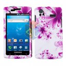 For Samsung Captivate i897 Cover Hard Case H-Flower