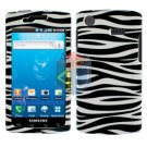 For Samsung Captivate i897 Cover Hard Case Zebra