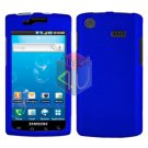 For Samsung Captivate i897 Cover Hard Case Blue