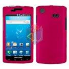 For Samsung Captivate i897 Cover Hard Case Rose Pink