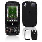 For Palm Pre Plus Cover Hard Case Rubberized Black