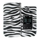 For Samsung Zeal / Alias 2 U750 Cover Hard Case Zebra