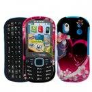 For Samsung Intensity II 2 Cover Hard Case Love (u460)