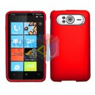 FOR HTC HD7 HD 7 Cover Hard Case Rubberized Red