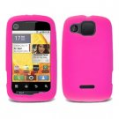 FOR Motorola Citrus wx445 Silicon cover soft case Hot Pink