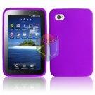 For Samsung Galaxy Tab (i800 / p1000) Silicon cover soft case Purple