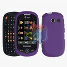 For Samsung Flight II 2 a927 Cover Hard Case Rubberized Purple