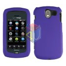 For Pantech Crux / CDM8999 Cover Hard Case Rubberized Purple