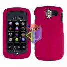 For Pantech Crux / CDM8999 Cover Hard Case Rubberized Rose Pink