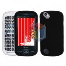 For Pantech Laser P9050 Cover Hard Case Rubberized Black