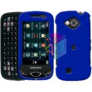 For Samsung Reality U820 Cover Hard Case Rubberized Blue