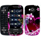 For Samsung Reality U820 Cover Hard Case Love