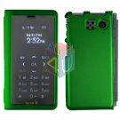 For Sanyo innuendo scp-6780 Cover Hard Case Rubberized Green