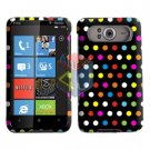 FOR HTC HD7 HD 7 Cover Hard Case R-Dot