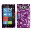 FOR HTC HD7 HD 7 Cover Hard Case P-Flower