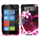 FOR HTC HD7 HD 7 Cover Hard Case Love