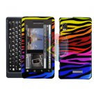 For Motorola Milestone 2 Cover Hard Case C-Zebra