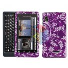 For Motorola Milestone 2 Cover Hard Case P-Flower