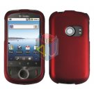 For Huawei Comet U8150 Cover Hard Case Rubberized Red