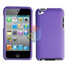 For ipod touch 4 Cover Hard Case Purple