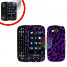 For Samsung Reality U820 Cover Hard Case P-Leopard +Screen 2-in-1