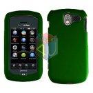 For Pantech Crux / CDM8999 Cover Hard Case Rubberized Green