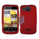 For Motorola Citrus WX445 Cover Hard Case Rubberized Red