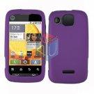 For Motorola Citrus WX445 Cover Hard Case Rubberized Purple