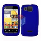 For Motorola Citrus WX445 Cover Hard Case Rubberized Blue