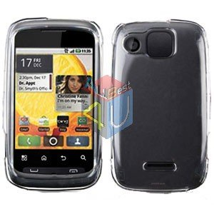 For Motorola Citrus WX445 Cover Hard Case Clear