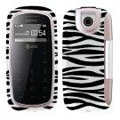 For Pantech impact P7000 Cover Hard Case Zebra