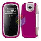 For Pantech impact P7000 Cover Hard Case Rubberized Rose Pink