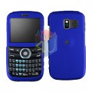 For Pantech Link P7040 Cover Hard Case Rubberized Blue