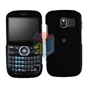 For Pantech Link P7040 Cover Hard Case Rubberized Black