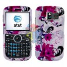 For Pantech Link P7040 Cover Hard Case W-Flower