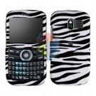 For Pantech Link P7040 Cover Hard Case Zebra