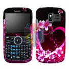 For Pantech Link P7040 Cover Hard Case Love