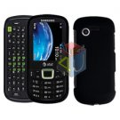 For Samsung Evergreen A667 Cover Hard Case Rubberized Black