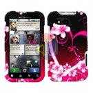 For Motorola Defy MB525 Cover Hard Case Love