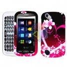 For Pantech Laser P9050 Cover Hard Case Love