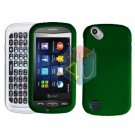 For Pantech Laser P9050 Cover Hard Case Rubberized Green