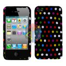 For Apple iphone 4S 4 Cover Hard Case R-Dot